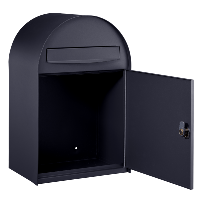 126531 | Individual mailbox | Oslo | Anthracite grey | open