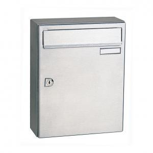 City 2 | Stainless steel postbox
