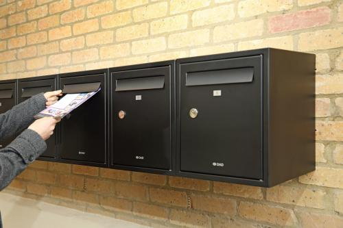 Multiple mailboxes | DAD009 | Secured by Design TS009 certified mailboxes