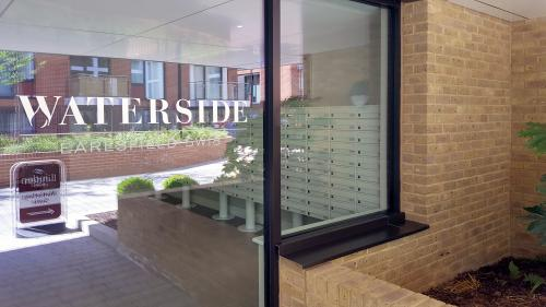 freestanding multiple mailboxes | Earlsfield Waterside | Wimbledon London