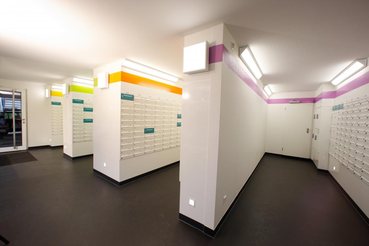 Germany - Tubingen University | Student accommodation postroom | 02