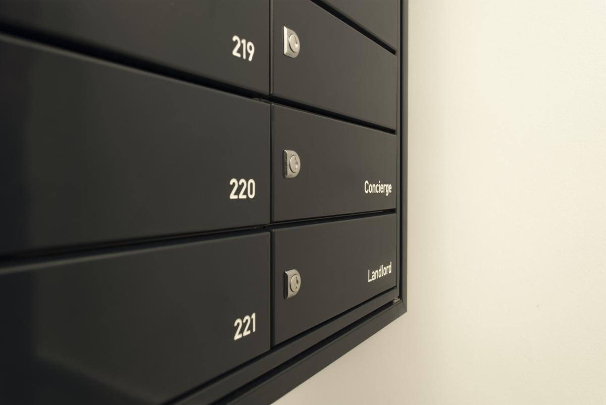 Multiple mailboxes | London | Wesgate apartments