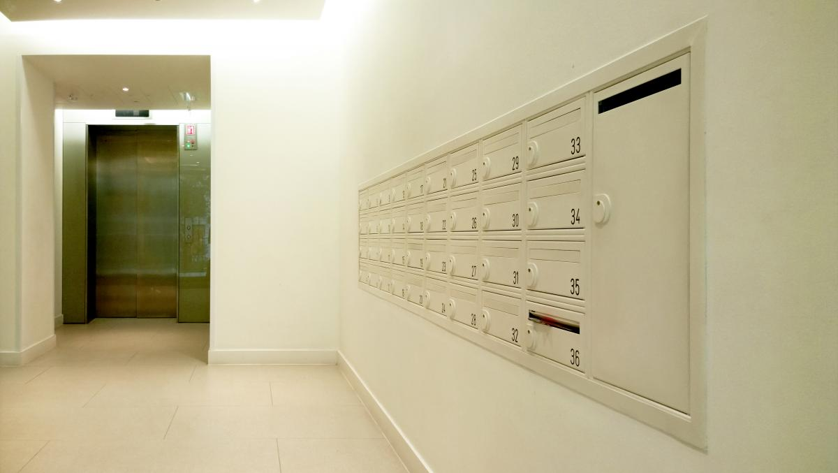 London Olympics Games 2012 | East Village | Fire-rated mailboxes