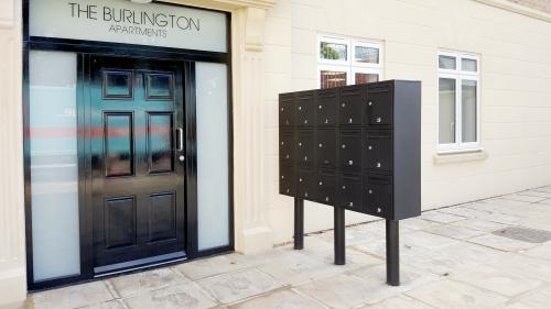 Secured by Design letterboxes | London - The Burlington Apartments