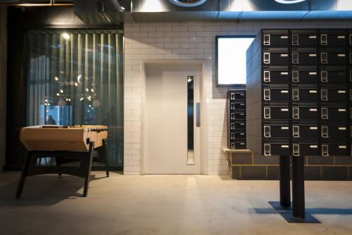 Spitalfields | Student accommodation electronic postboxes | Chapter London