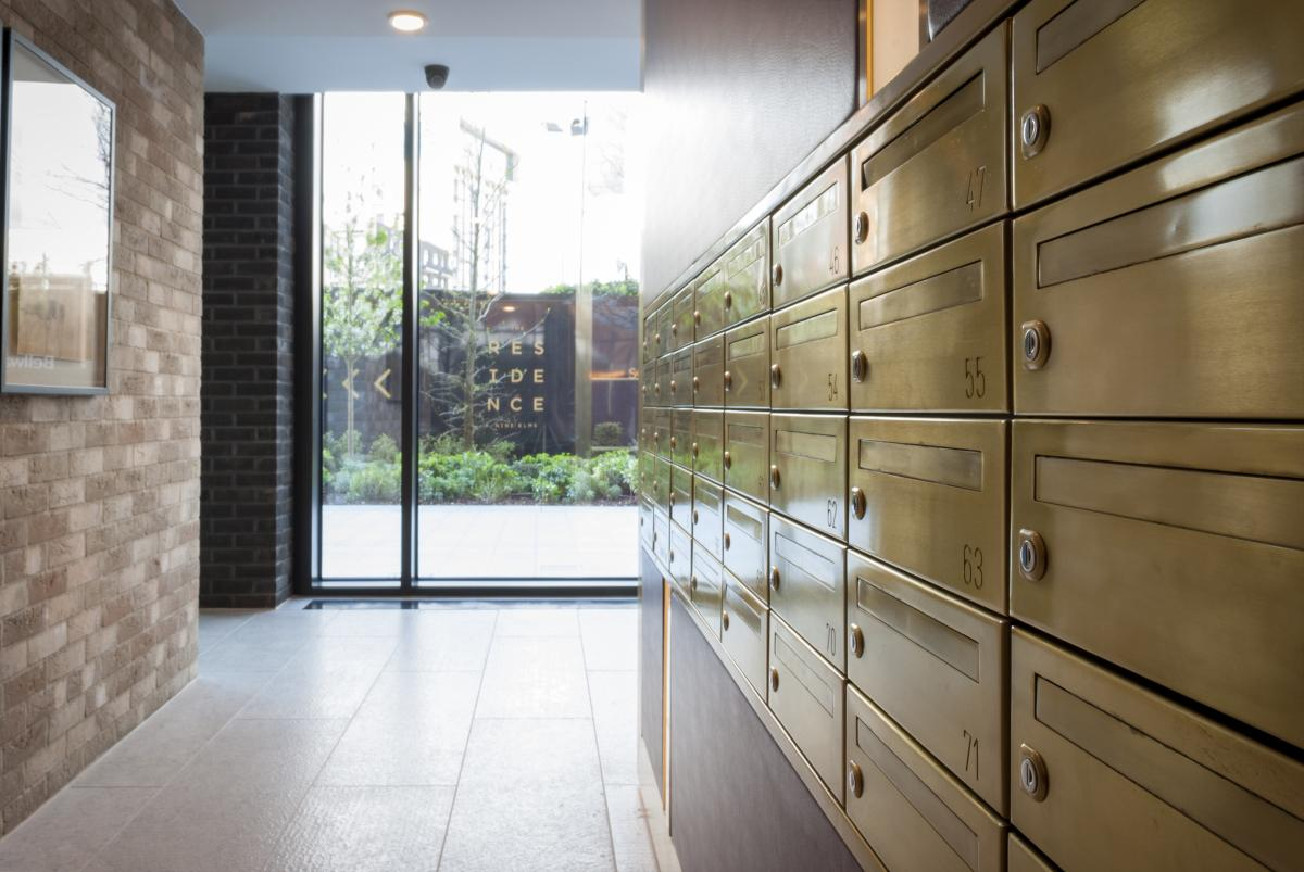 The Residence | Bank of mailboxes SbD compliant
