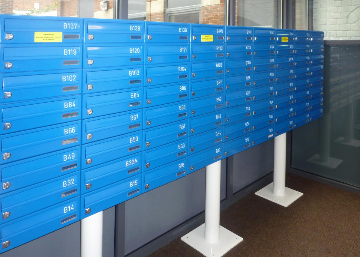 Freestanding letterboxes | Student accommodations | Tuffnell Park