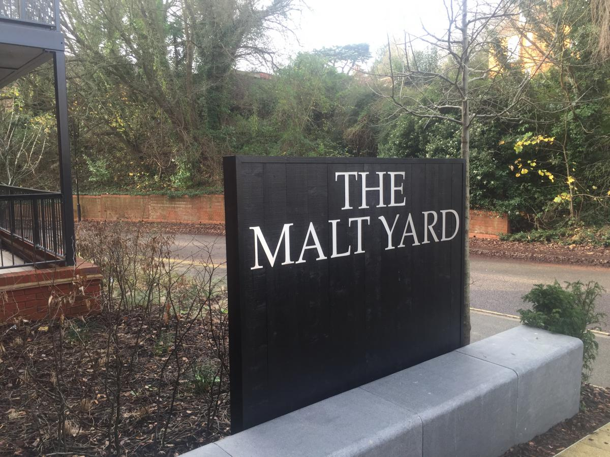 Electronic mailboxes | The Malt Yard | Woodbrige - Suffolk | 01