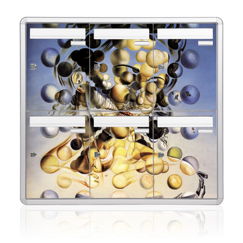 Multiple mailboxes | Dali print artwork