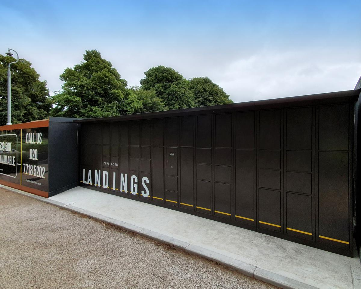 Project | Deptford Landings | Smart Parcel Boxes