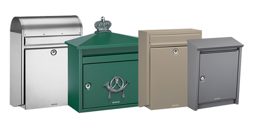 DAD and Brabantia individual mailboxes