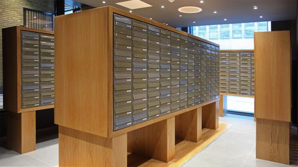Leman Street London | Student mailboxes