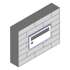 Range Of Letterboxes For Wall Recessed Application Dad Uk