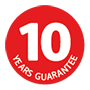 10 years Guarantee